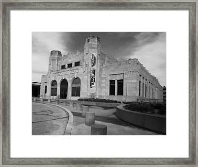 Art Deco Depot Framed Print by William Oswald