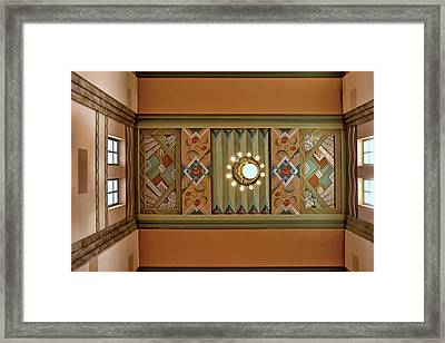 Art Deco East Anteroom Framed Print