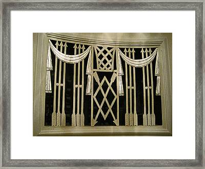 Art Deco Grate 2 Framed Print by Michael Durst