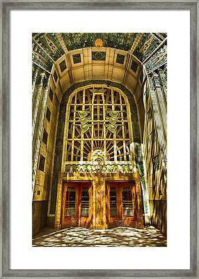 Art Deco Marine Building Framed Print