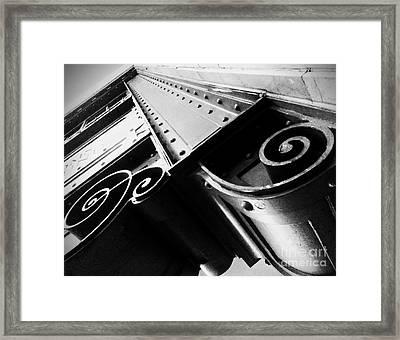Art Deco Steel Framed Print
