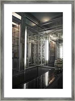 Art Deco Bar Vertical Framed Print