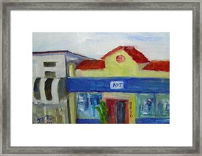 Art Department Framed Print