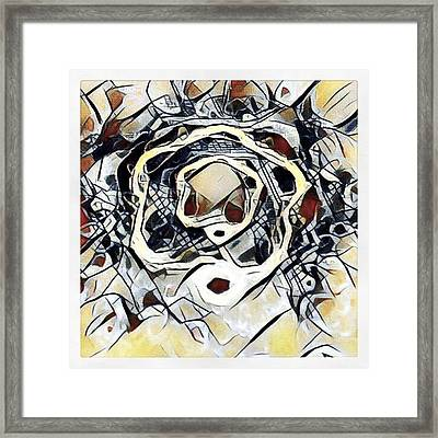 #art #digitalart Framed Print by Michal Dunaj