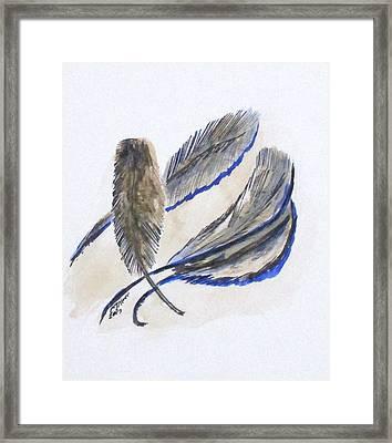 Art Doodle No. 21 Framed Print