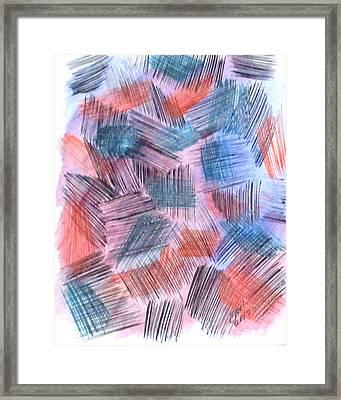 Art Doodle No. 23 Framed Print