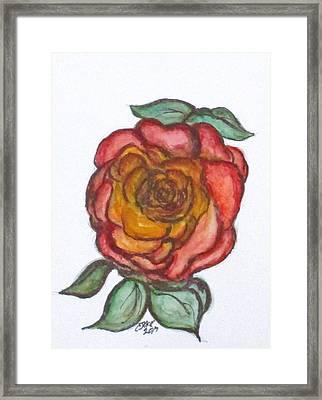 Art Doodle No. 30 Framed Print