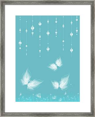 Art En Blanc - S11a Framed Print by Variance Collections