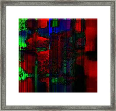 Art Exchange Framed Print by Fania Simon