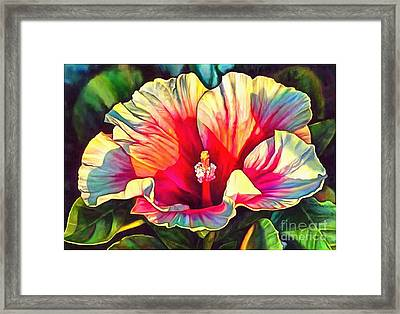 Art Floral Interior Design On Canvas Framed Print