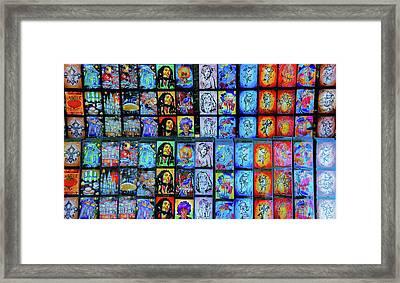Art For Sale At Jackson Square, New Orleans Framed Print