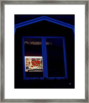 Art Gallery At Night Framed Print