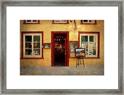 Art Gallery, Quebec City Framed Print by Maria Angelica Maira