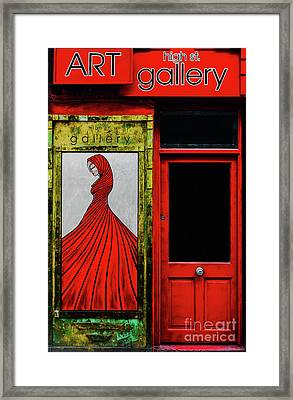 Art Gallery Shop Front Framed Print