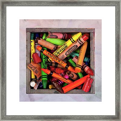 Art In A Box Framed Print by Tom Mc Nemar