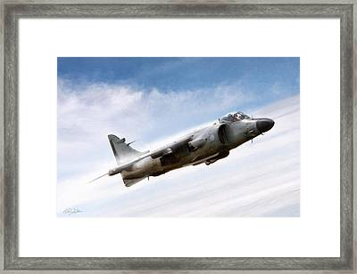 Art In Motion Framed Print by Peter Chilelli