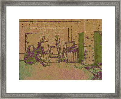 Art Intro Mixed Media Framed Print by Hye Ja Billie