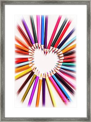 Art Love Framed Print by Jorgo Photography - Wall Art Gallery