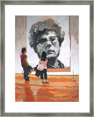 Art Lovers Framed Print by Robert Bissett