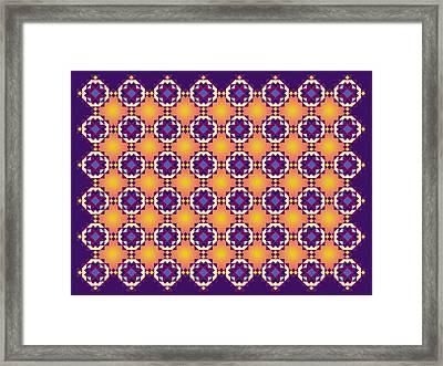Art Matrix 001 A Framed Print by Larry Capra