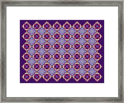 Art Matrix 001 B Framed Print