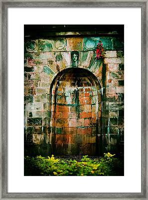 Art Museum Arch Framed Print