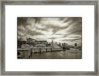 Art Museum Time Exposer Framed Print by Jack Paolini