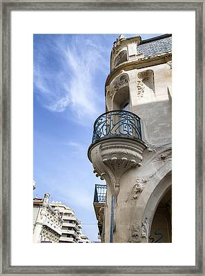 Art Nouveau Balcony Framed Print