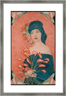 Art Nouveau Calas Framed Print