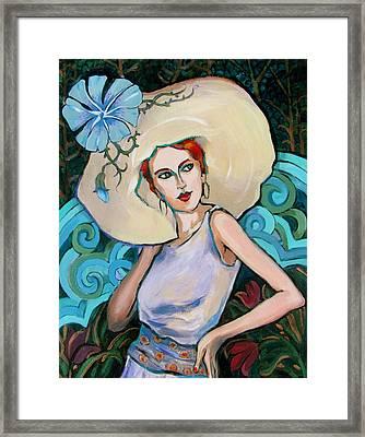 Art Nouveau Framed Print by Dianna Willman