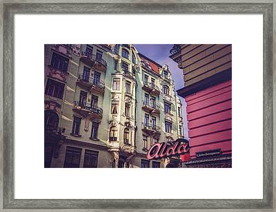 Art Nouveau In Vienna  Framed Print by Carol Japp