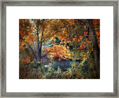 Art Of Autumn Framed Print by Jessica Jenney