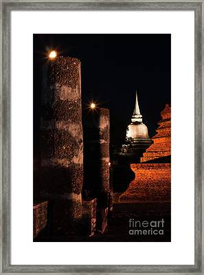 Art Of Chedi Framed Print