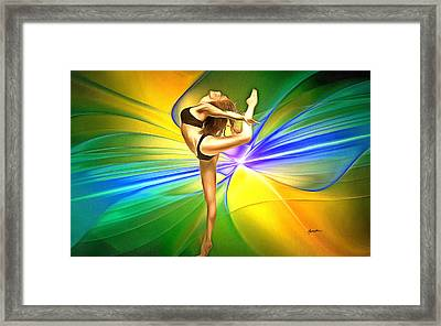 Art Of  Dance Framed Print by Anthony Caruso