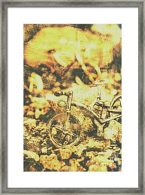 Art Of Mountain Biking Framed Print