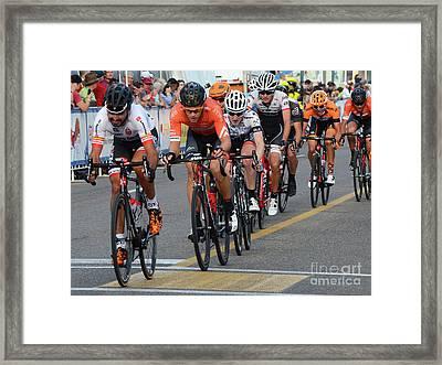 Art Of The Athlete 10 Framed Print by Bob Christopher