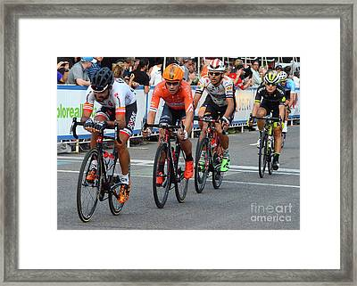 Art Of The Athlete 12 Framed Print by Bob Christopher