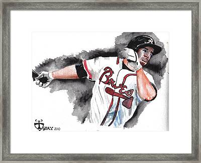 Art Of The Braves Framed Print by Torben Gray