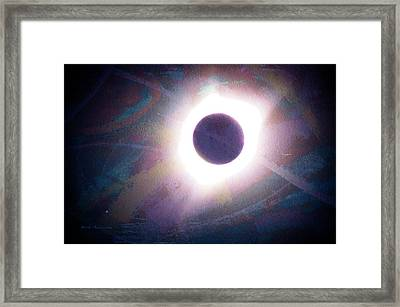 Art Of The Eclipse Framed Print