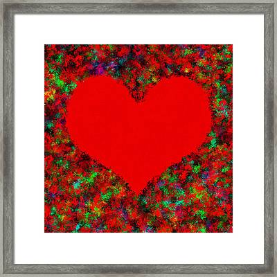 Art Of The Heart Framed Print
