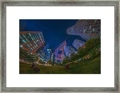 Art On The Greenway 2 Framed Print