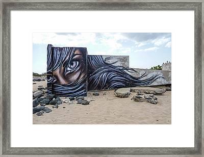 Art Or Graffiti Framed Print