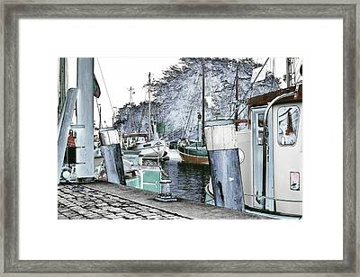Art Print Boat 2 Framed Print