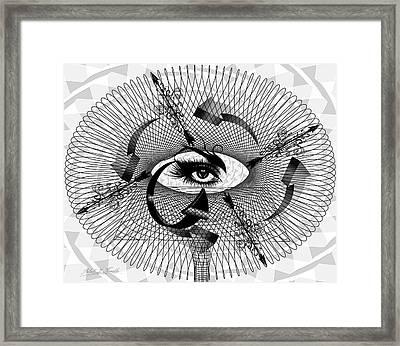 Art Redux Framed Print by Robert Kernodle