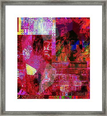Art Session - Things Unseen Framed Print by Fania Simon