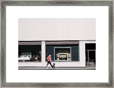 Art Shoppe Framed Print by Charline Xia