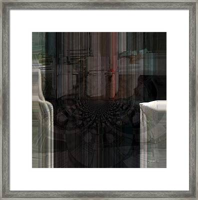 Art To The Hamptons Framed Print by Fania Simon