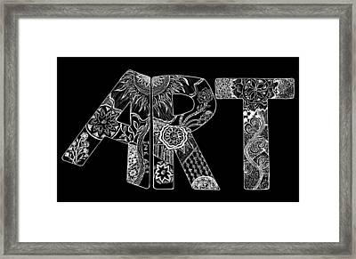 Art Within Art Framed Print by Samantha Thome