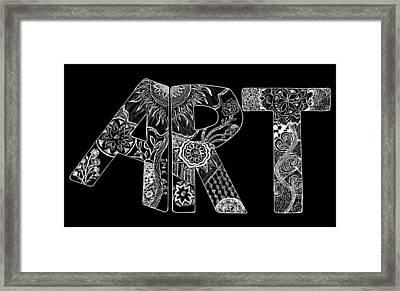 Art Within Art Framed Print