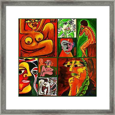 Art World II Framed Print by Lili Sciarrotta